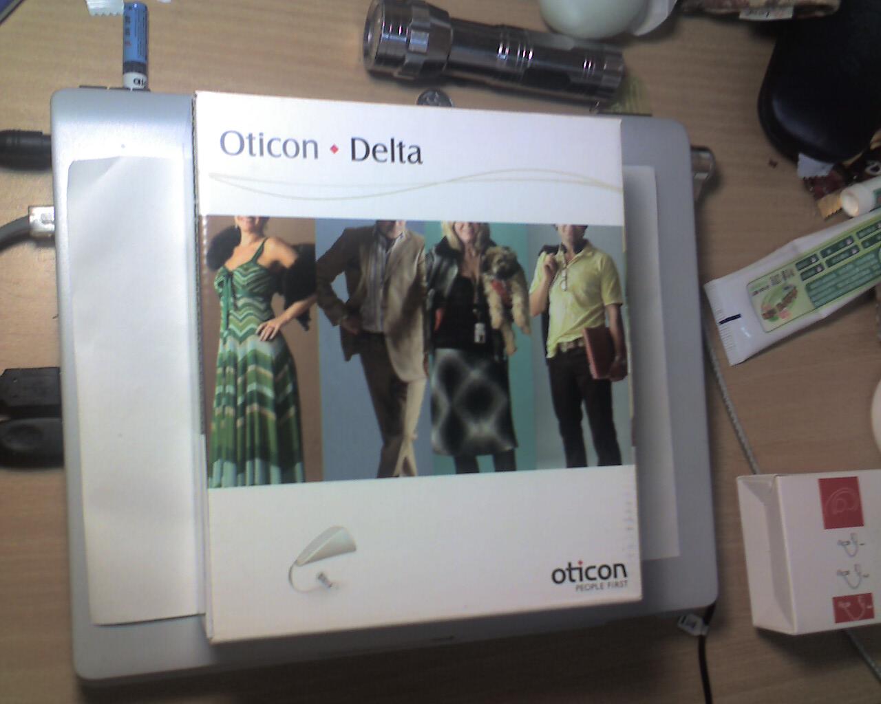 Otion Delta 外包装